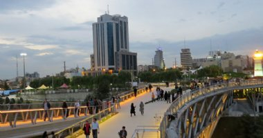 More information about Tabiat Bridge