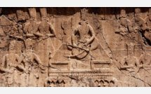 Cheshmeh ali: Fathalishah Relief in Shahr-e-Rey