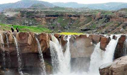Afrineh Waterfall - Pol-e Dokhtar