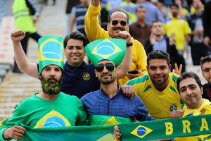 Abadan is your Brazil ! Inside the local stadium, fans chant.