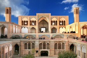 Agha Bozorg Mosque and School - Kashan