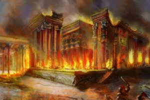 The Burning of Persepolis