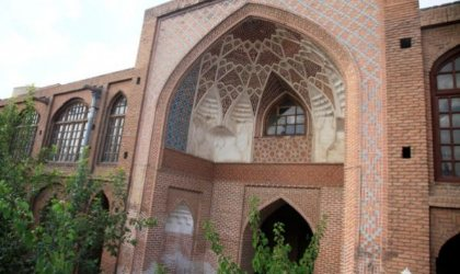 Akbarieh School in Tabriz