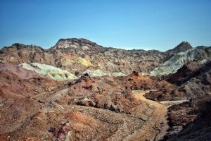 Rainbow Valley in Hormoz Island - Hormozgan Province