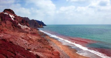 More information about Silver and Red Beach of Hormuz