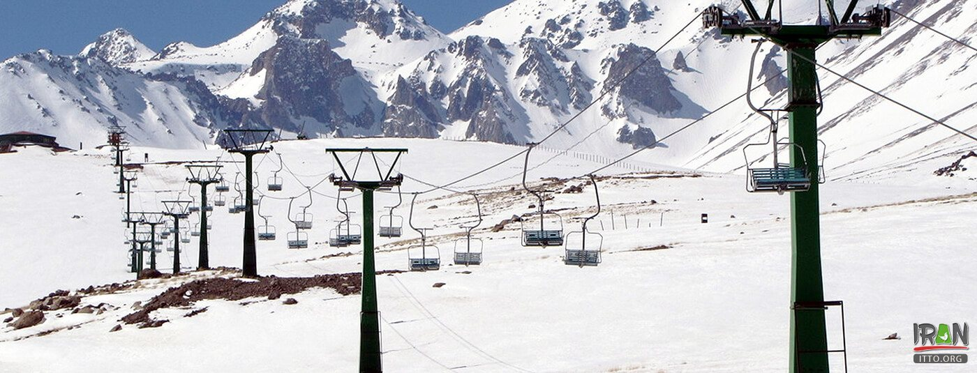 Alvares Ski Resort near Ardabil