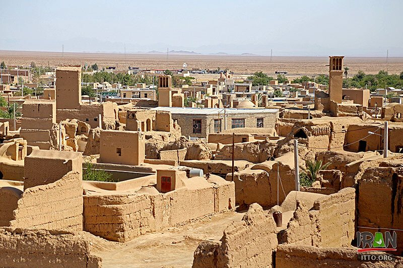 Aghda or Aqda village in Yazd Province