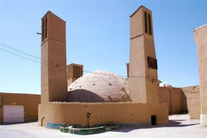 Sheikhdad Wind Tower Reservoir - Traditional water reservoirs in YAZD