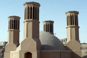 Traditional water reservoirs in YAZD