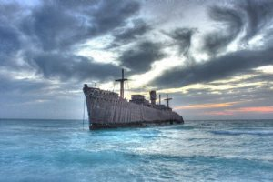 Greek Ship - Kish Island