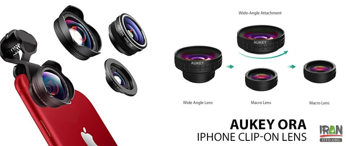 Top 10 Travel gadgets of 2019: Aukey Ora iPhone Clip-On Lens