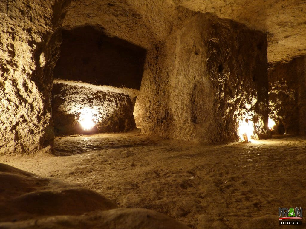 Underground City of Nushabad (Ouei)