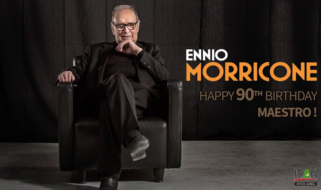 Tehran foundation to review works by Ennio Morricone