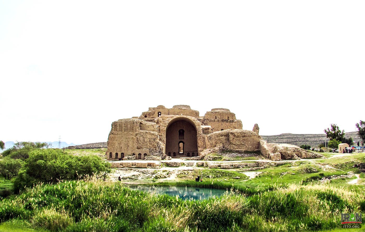 Palace of Ardeshir Babakan, the First Iranian Domed Structure