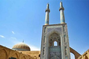 Yazd Jame Mosque - Old Mosques in YAZD