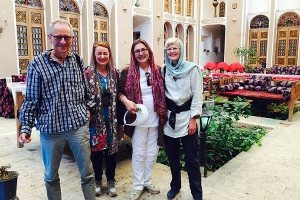 More foreign tourists spectate religious rituals while in Yazd