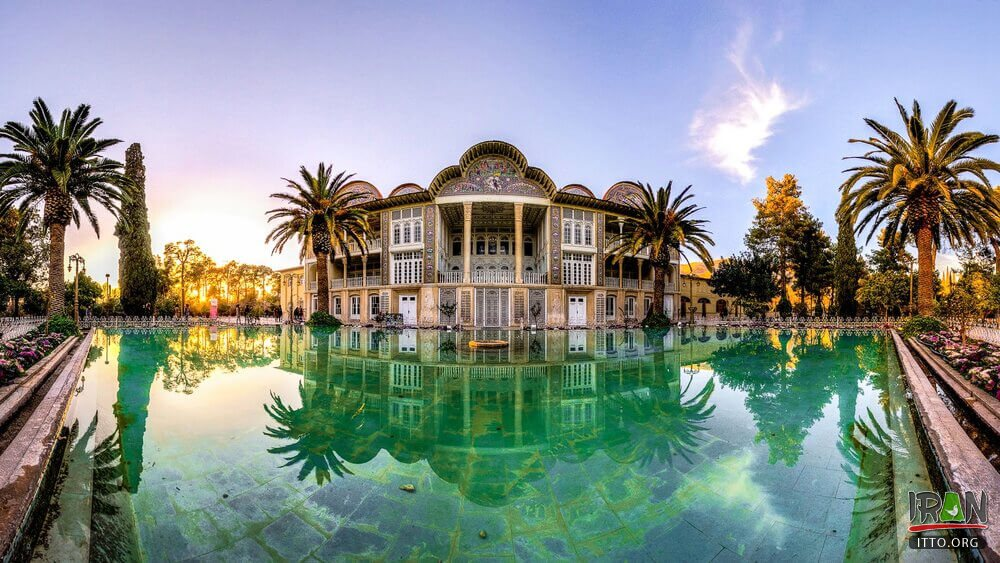photo: Eram Garden in shiraz