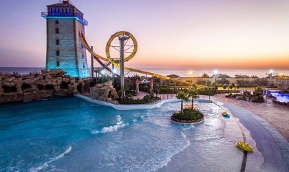 Tower of the sun: Ocean Water Park - Kish Island