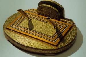 Khatam kari (Inlaid objects / Khatamkari)