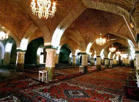 Tasuj Grand Mosque near Shabestar - East Azerbaijan
