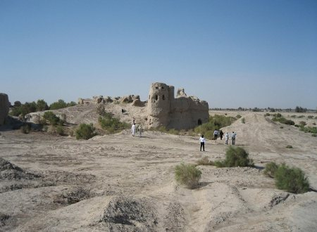 Saam Castle near Zabol