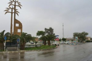 A rainy day in Abadan
