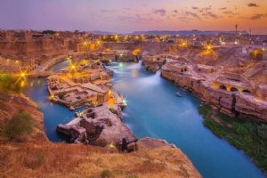 Shushtar Historical Hydraulic System in Shushtar City