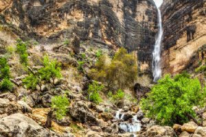 Tarom Waterfall - Neyriz