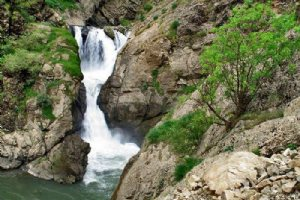 Shalmash Waterfall - Sardasht