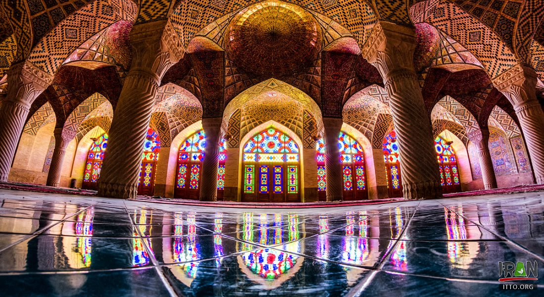 NasiralMolk Mosque in Shiraz fars province