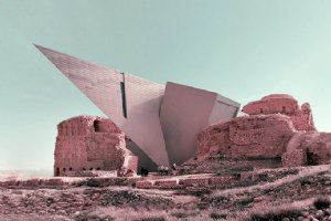 Retrofuturism brings contemporary architecture to ancient Iran
