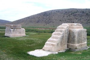Tomb of Cambyses near Pasargade