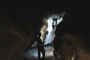 Salt Goddess Cave & Mountain - Hormoz Island - Persian Gulf