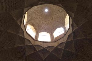 Roof of Ashkezar Watermill - Yazd Province