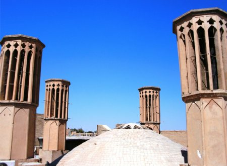Ab anbar Rostam Giv - Traditional water reservoirs in YAZD