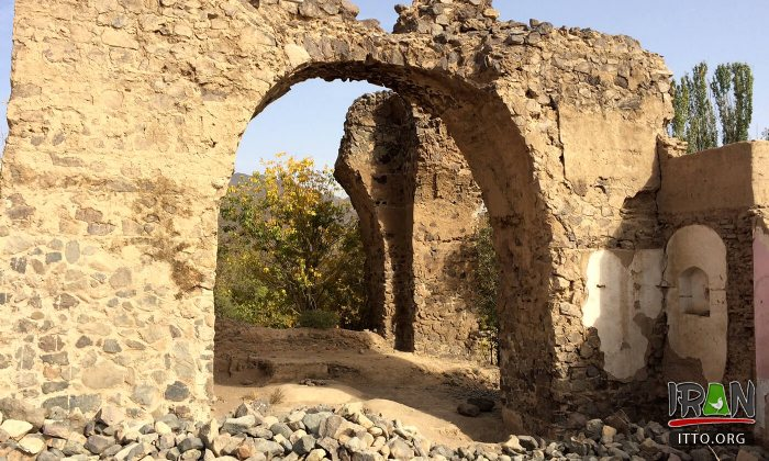 Sassanid Fire Temple of Natanz - Isfahan Province