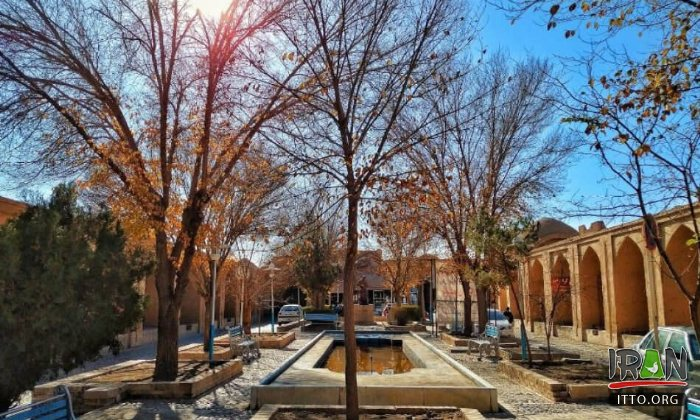 Khan Square in Yazd