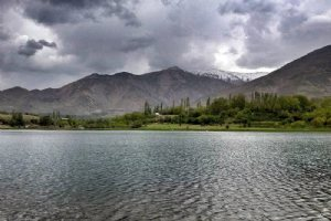 Ovan Lake near Qazvin