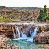 Afrineh Waterfall (Pol-e Dokhtar)