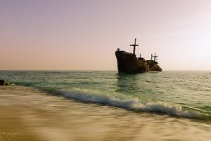 The Greek Ship - Kish Island