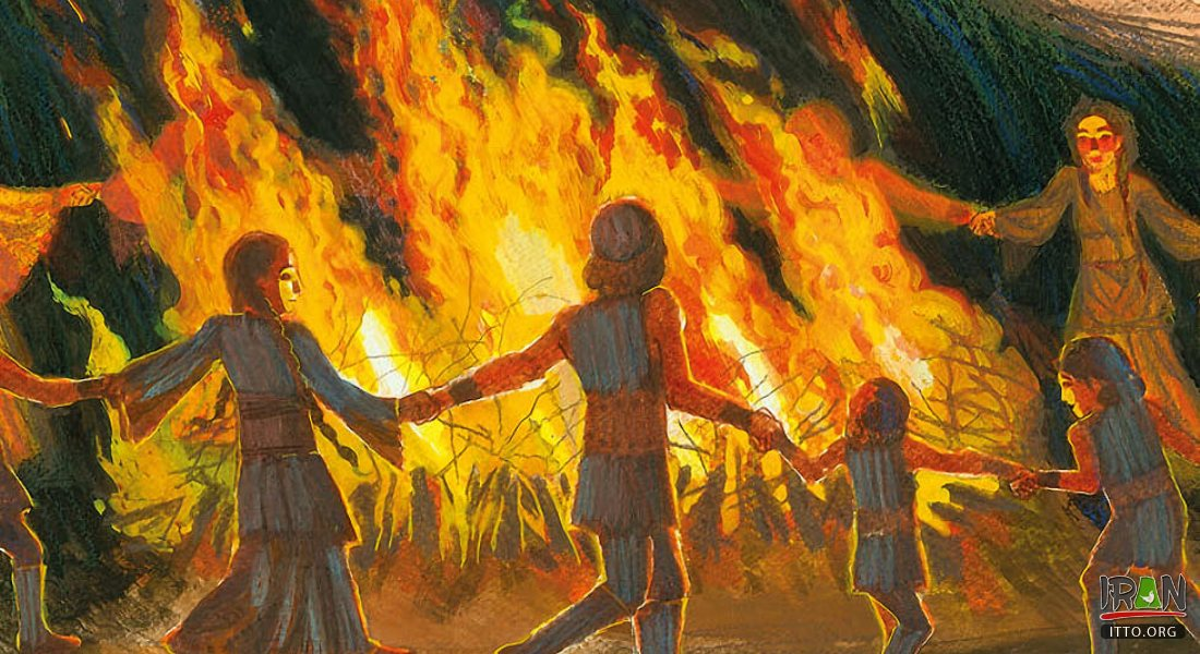 Chaharshanbe Suri is an Iranian festival celebrated on the eve of the last Wednesday before Nowruz.
