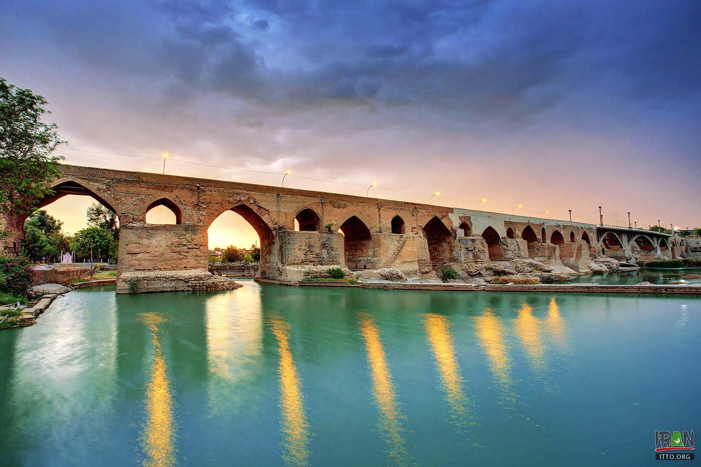 Dezful Old Bridge,Pol-e Dezful,پل دزفول,پل ساسانی دزفول,پل دوره ساسانی خوزستان,khuzestan old bridge,khuzistan historical bridge,poldezful,poledezful