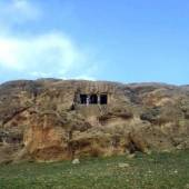 The rock tomb of Faghregah near Mahabad