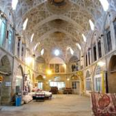 Old bazaar of Arak (Araak) - Markazi Province