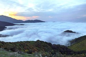 Above the Clouds - Javaher-Deh Village