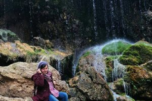 Asiab Kharabe Waterfall - Jolfa
