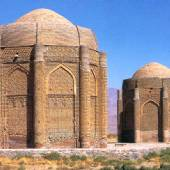 Kharaqan Towers near Qazvin
