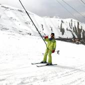 Khor Ski Resort near Karaj-Chalus Road