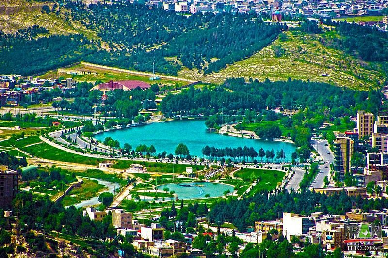 The wonderful Keeyow Lake is located in the northwest of Khorramabad, in Lorestan province. It is the only natural urban lake in Iran Keeyou means dark blue.