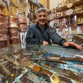 Zanjan Bazaar: Knife Shop
